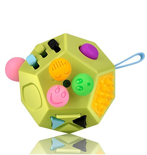 12 Sides Fidget Cube Toys Green B1 [FCTS20171228005]