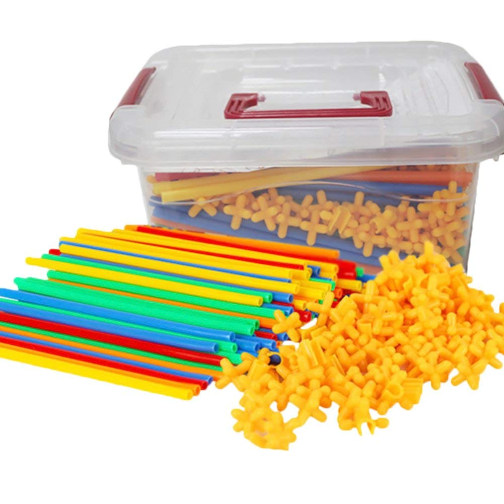 Straws Builders Construction Toy,Building Toys For Sale(600 PCS)