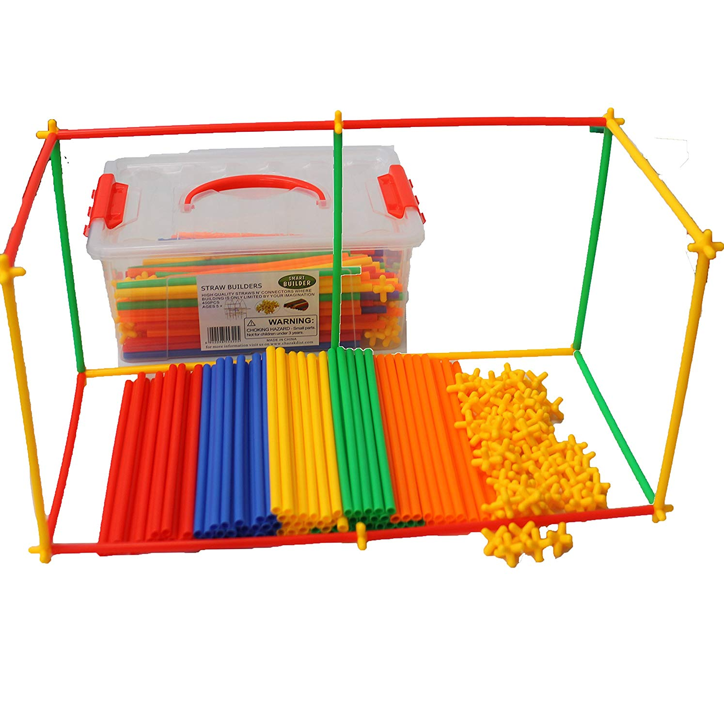 Straws Builders Construction Toy,Building Toys For Sale(500 PCS)