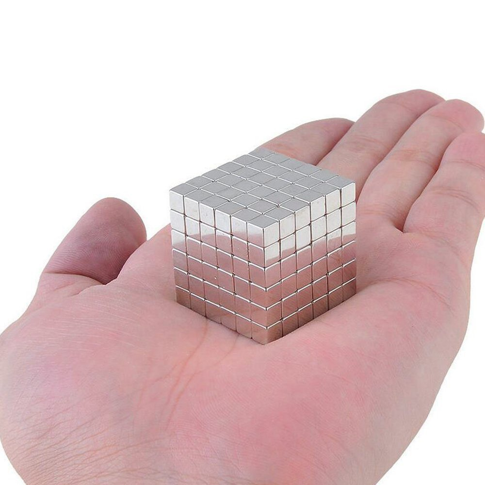 Magnetic Cube Toys,Multi-Use Magnets Cube Education Toys  4x4x4mm (216 Pack)